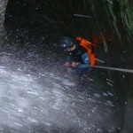 Picture from 2009 canyoning expedition in Nepal