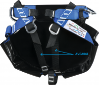 Sit-harness Canyoning » Set of 2 thigh straps for Mazerin harness